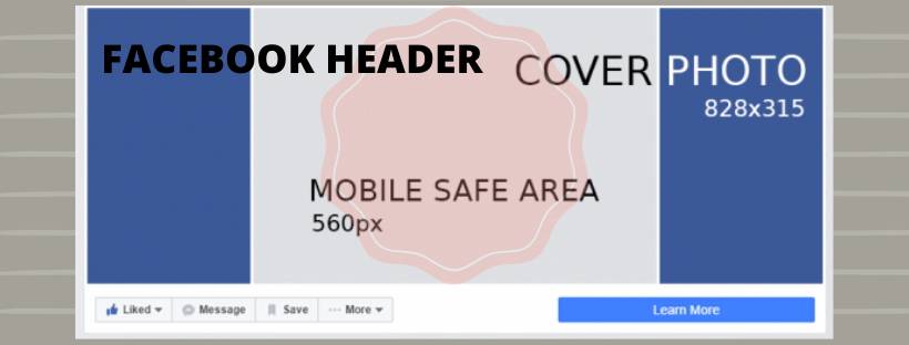 Facebook Page Header Image $60